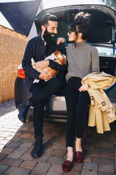 New Darlings - Road trip style - Couples photography - Husband and wife lifestyle blog