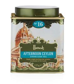 Harrods Heritage No. 16 Afternoon Ceylon Loose Leaf Tea (125g)   Harrods