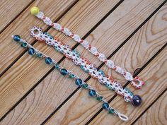 Beachy Little Bracelet #3 - free crochet tutorial