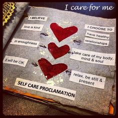 I Care for Me: Self Care through Creative Practice & Intention via Creativity in Motion