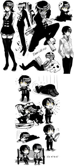 Death the kid is my husband... sorry other fangirls but i beat you to it. do gender bends annoy anyone else? just me?
