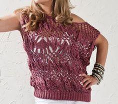 Armarinho São José, Aviamento, Tricô, Crochê, Barbante, Agulhas, linhas para Costura: Blusa Rosa com Crochê de Grampo|Linha Camila Fashion