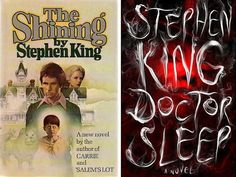The Shining or Doctor Sleep by Stephen King | 13 Books To Read This Halloween #halloween #scaryreads