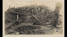 Ruines du château de Deniécourt (Somme). Fin 1916. -61 FI 33
