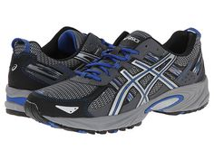 ASICS Gel-Venture® 5 Silver/Light Grey/Royal - Zappos.com Free Shipping BOTH Ways  SIZE 13!!!