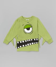 Look what I found on #zulily! Green Zombie Tee - Infant, Toddler & Boys #zulilyfinds