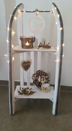 Get down to business and do one of these 12 magical autumn and winter … - Christmas Crafts Diy Winter Christmas, Christmas Time, Christmas Crafts, Christmas Decorations, Holiday Decor, Craft Decorations, Halloween Decorations, Navidad Diy, Christmas Inspiration