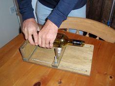 Cortador de vidrio en pinterest botellas de vino dremel for Cortador de vidrio