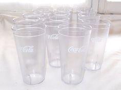 14 Carlisle Coca Cola Clear Plastic Tumbler Cups Glasses 20 Oz Restaurant Coke #Carlisle