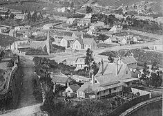 Lyttelton township early days Nz History, Christchurch New Zealand, Paris Skyline, Lost, City, Nature, Travel, Vintage, Naturaleza
