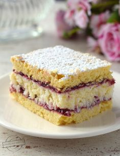 Ciasta – Strona 5 – Smaki na talerzu Lemon Cheesecake Recipes, Chocolate Cheesecake Recipes, Easy Desserts, Dessert Recipes, Vegan Junk Food, Vegan Kitchen, Happy Foods, Vegan Sweets, Dessert Bars