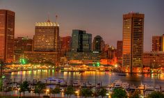 Baltimore Inner Harbor - Maryland, USA is Hub to Exiting Places – Learn More Here