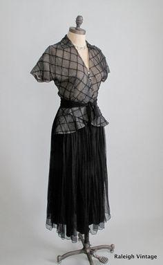 1940s party dress