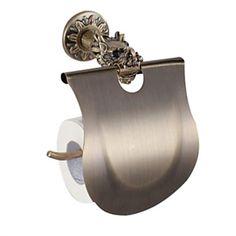 Öl eingerieben Bronze Antik Badezimmer Zubehör Toilettenpapierhalter