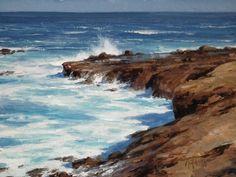 MATT SMITH ACTIVE SURF oil on board 12 x 16 in (30.48h x 40.64w cm) $3,400  www.trailsidegalleries.com  #coastal  #california #artshow #oilpaintings #sea #beach #opa #scottsdaleaz  #scottsdale  #trailsidegalleries @trailsidegalleries  #artshow #artoftheday #greatart #reflections #water #sea #waves #ocean #seaside #blue #instabeach #coast #surf @californiaartclub