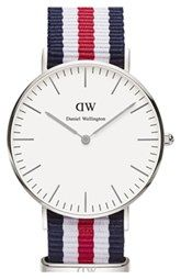 Daniel Wellington 'Classic Canterbury' NATO Strap Watch, 36mm