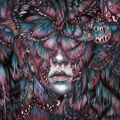 "Marco Mazzoni - ""I Will Survive in a Different Way"" 2016, colored pencils on paper, cm 30x30"