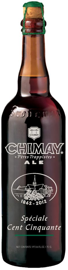 Chimay 'Speciale Cent Cinquante' Anniversary brew. I'm drooling over here...