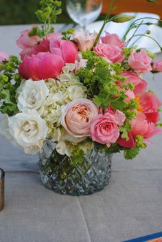 Southern Blooms by Pat's Floral Designs Centerpieces, Table Decorations, Wedding Colors, Wedding Ideas, Interior Design Services, Custom Homes, Flower Arrangements, Bloom, Floral Designs