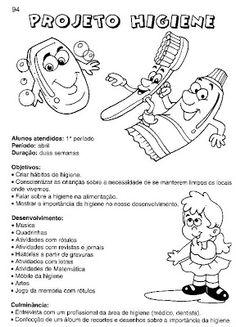 50 atividades sobre higiene e hábitos saudáveis para imprimir - ESPAÇO EDUCAR