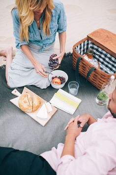 a sunny afternoon picnic basket // smitten studio