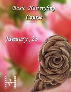 #BASIC #HAIRSTYLING #COURSE