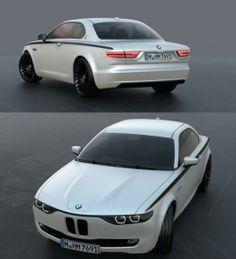 Stunning BMW CS Vintage Concept Tribute Shows Old Design Still Works Today – En Güncel Araba Resimleri Bmw E9, Bmw Concept Car, Bmw Vintage, Automobile, Bmw 2002, Bmw Classic, Bmw Cars, Automotive Design, Courses