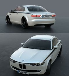 BMW CS Vintage Concept is a modern successor to BMW E9