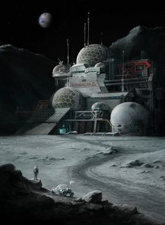 Sirsalis Colony by Alexey Shugurov