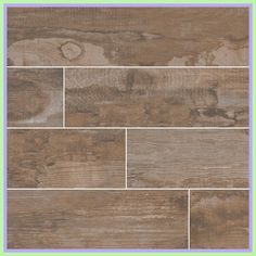 Salvage Brown Porcelain Tile has the rustic charm of reclaimed hardwood, featuring shades of brown to highlight the characteristics of wood. Tiled Hallway, Wood Look Tile, Cool House Designs, Wood Planks, Tile Floor, Kitchen Design, Porcelain, Flooring, Ceramics
