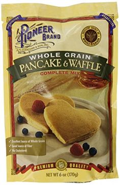 Better batter pancake and biscuit mix gluten free gluten free foof pioneer brand whole grain pancake mix 6 ounce pack of 12 for more information ccuart Choice Image