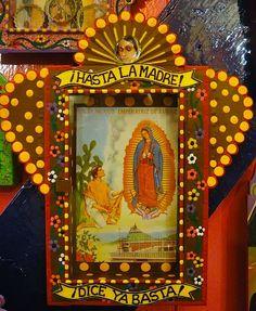 mexican folk art~senora de guadalupe ✶ La virgen