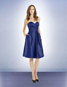 One option for Paige's bridesmaids' dresses