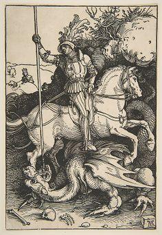St. George and the Dragon  Albrecht Dürer  (German, Nuremberg 1471–1528…