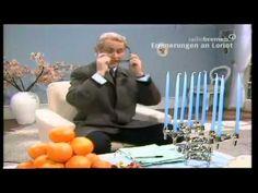 Loriot Das Bild hängt schief Radio Bremen NDR Evelyn Hamann Wohnzimmer Einrichtung