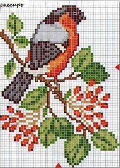 Trendy ideas for home sweet hom cross stitch charts free pattern Cross Stitch Bird, Beaded Cross Stitch, Crochet Cross, Cross Stitch Animals, Cross Stitch Flowers, Cross Stitch Charts, Cross Stitch Designs, Cross Stitching, Cross Stitch Embroidery