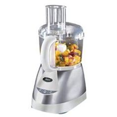 Enhance your kitchen with this Oster 10-Cup Stainless Steel Food Processor