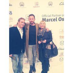 Marcel Ostertag auf der Fashion Week 2015 inklusive Familie #Clarks #MBFWB #Fashionweek #MarcelOstertag
