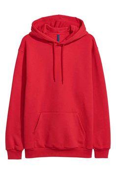 Худи - Ярко-красный H&M RU