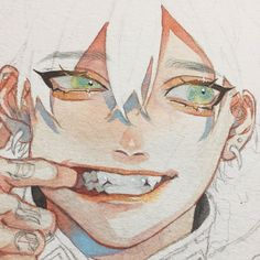 Anime Drawings Sketches, Anime Sketch, Anime Drawing Styles, Pretty Art, Cute Art, Manga Art, Anime Art, Manga Watercolor, Arte Sketchbook