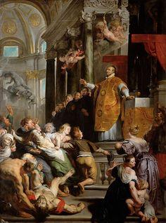 Miracle of Saint Ignatius of Loyola // ca. 1617-1618 // Peter Paul Rubens // Kunsthistorisches Museum Wien