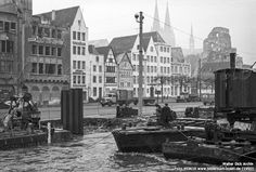 Bilderbuch Köln - Hochwasser in der Altstadt Birmingham, Cologne Germany, Dom, Catholic, New York Skyline, St Martin, Street View, Europe, Architecture