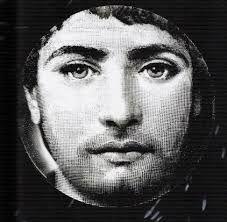 Afbeeldingsresultaat voor afbeelding rond zwart wit gezicht