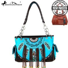 Montana West Fringe Collection Concealed Handgun Satchel Bag – Handbag-Addict.com
