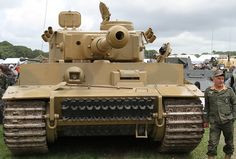 Front of PzKpfw VI Tiger tank. Double click on image to ENLARGE.