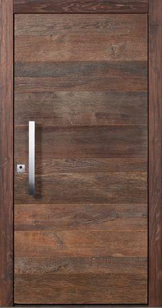 Pieno front door model ARLBERG – Now with sensational insulation values! Now also available from Fenster-Schmidinger from Gramastetten / Upper Austria. # doors # Holztüre Source by