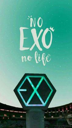 No exo,no life👑 Baekhyun, Lightstick Exo, Kpop Exo, Taemin, Shinee, Nct, Kdrama, 5 Years With Exo, Backgrounds