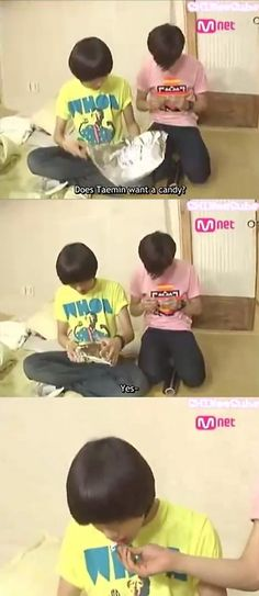 One Of My Favorite Moments In Shinee History Lol  #Taemin's #Umma, #Key