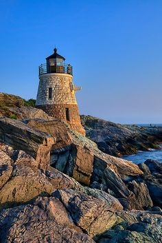 "Castle Hill Lighthouse -Rhode Island"" by JHRphotoART 