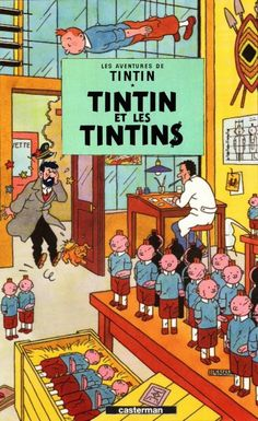 Les Aventures de Tintin - Album Imaginaire - Tintin et les Tintins